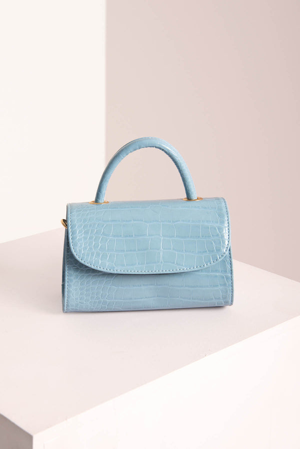 Croc Mini Bag / Blue