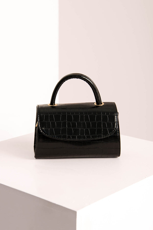 Croc Mini Bag / Black