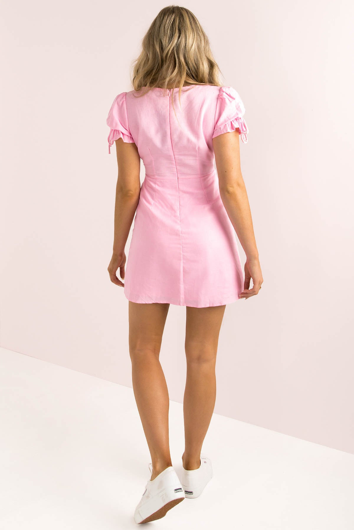 Amalfi Dress / Pink