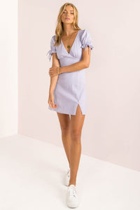 Amalfi Dress / Lilac