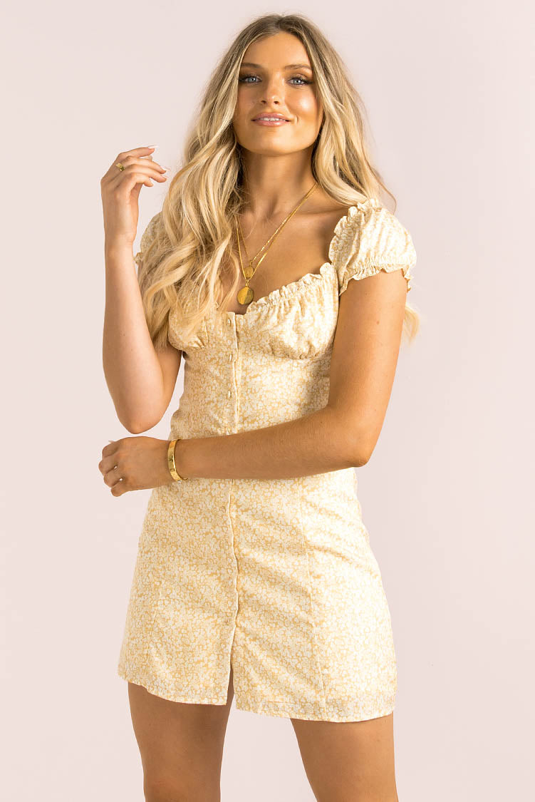 Yasmin Dress / Yellow