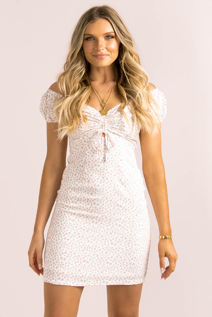Kingston Dress / Baby Pink