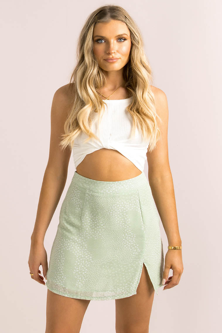 Cynthia Skirt / Mint