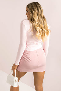 Spencer Top / Baby Pink