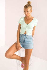 Preston Top / Mint