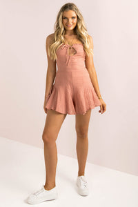 Luma Playsuit / Rose