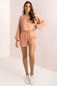 Mimi Shorts / Rose