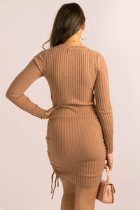 Marlina Dress / Mocha