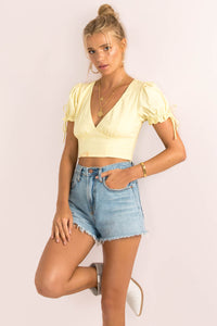 Amalfi Top / Lemon