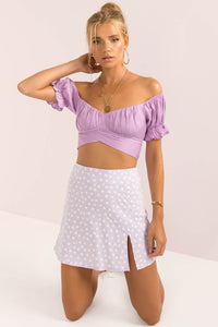 Cody Skirt / Lilac Floral