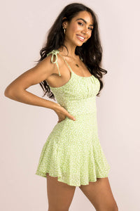Annie Playsuit / Lime