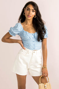 Laura Top / Blue