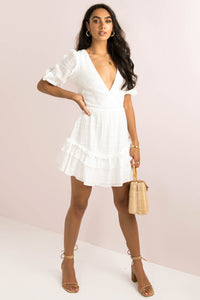 Lina Dress / White