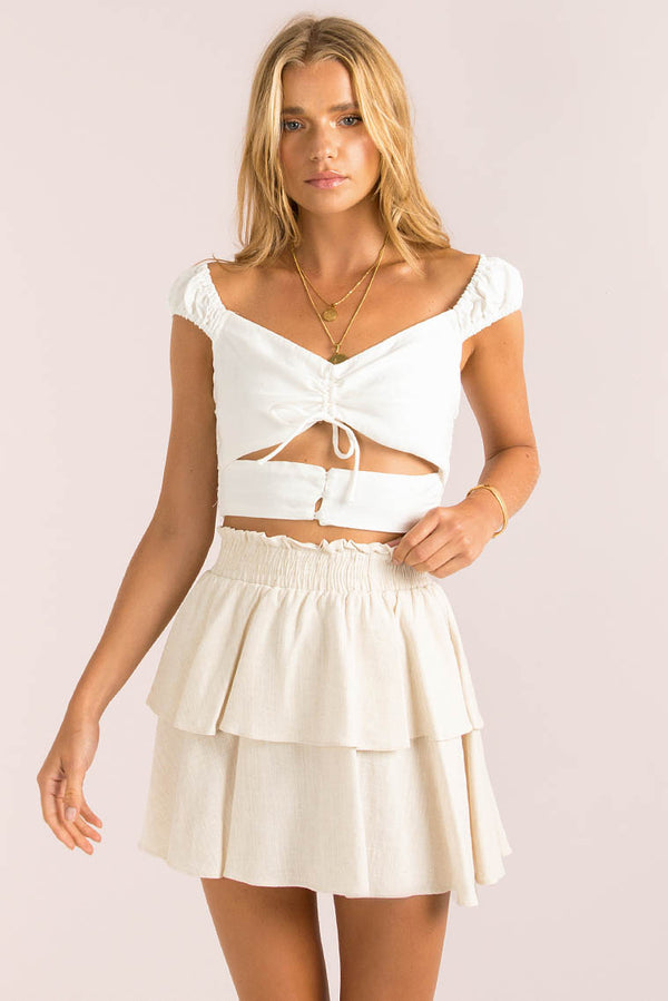 Ember Top / White