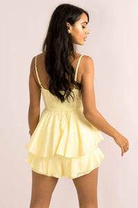 Serena Playsuit / Lemon
