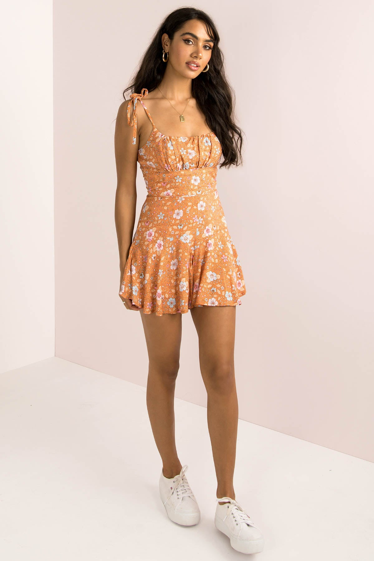 Annie Playsuit / Rust
