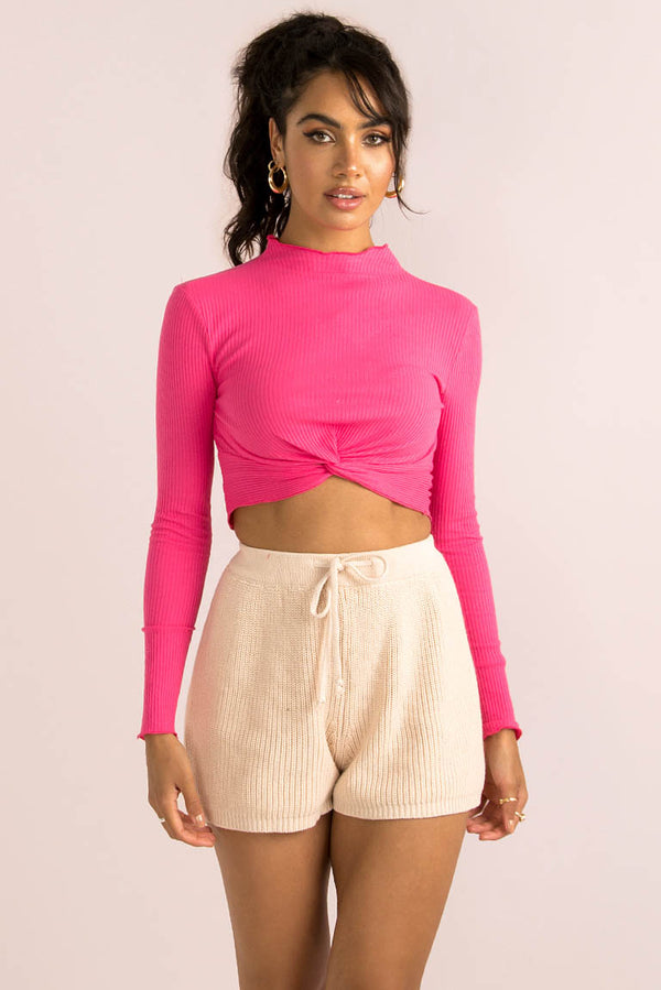 Ally Top / Fuchsia