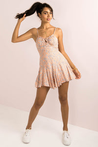Olivia Playsuit / Peach