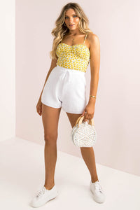 Beth Top / Yellow