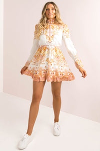 Marigold Dress / Paisley