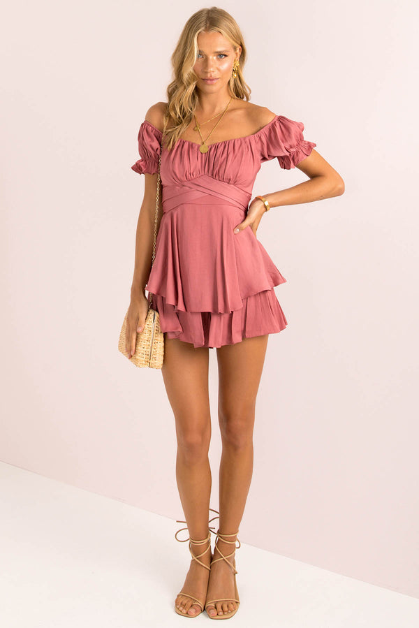 Ruth Playsuit / Rose
