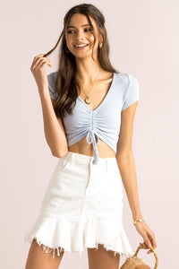 Kaia Top / Blue