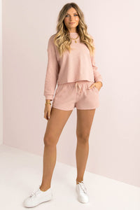 Pippa Shorts / Blush