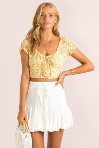 Renee Top / Yellow