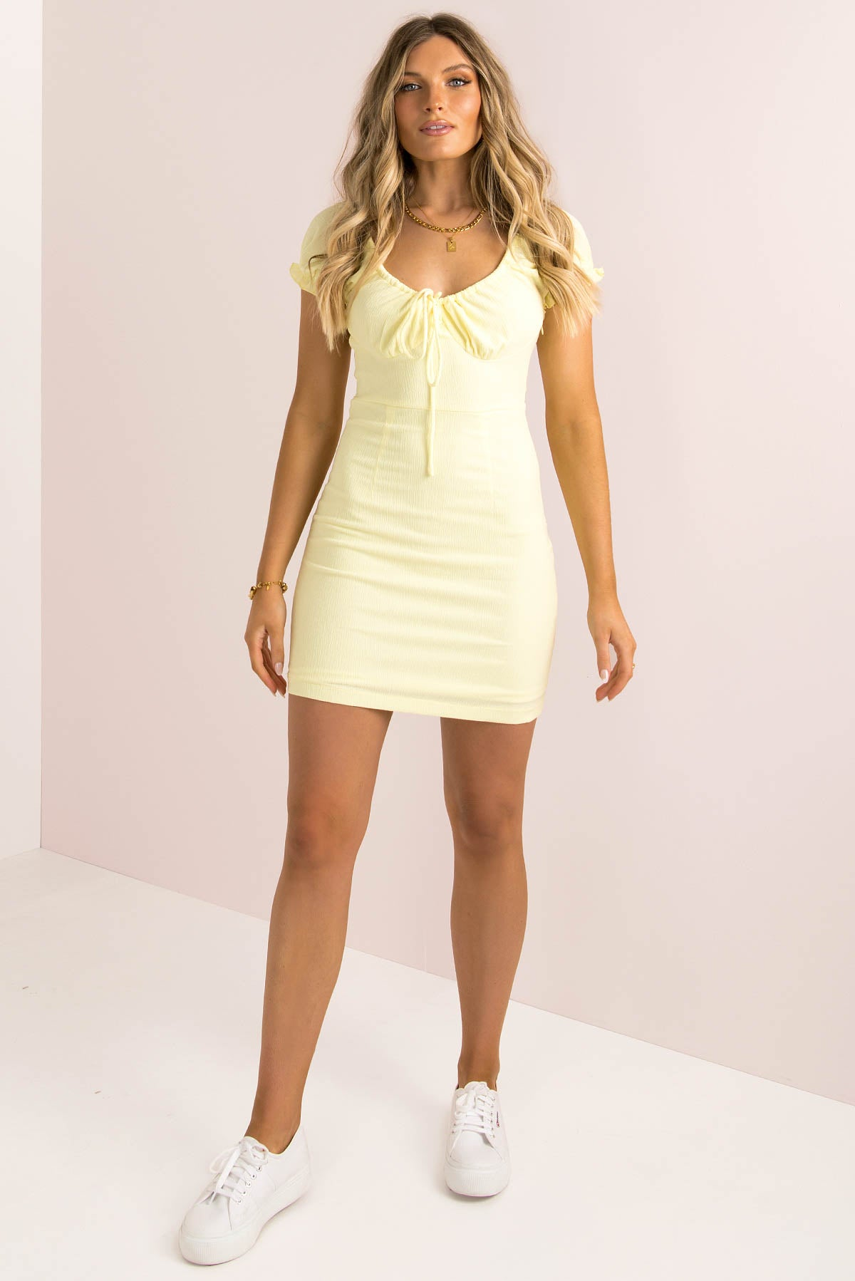Quinn Dress / Lemon