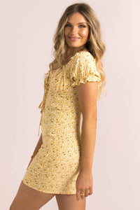 Bambi Dress / Yellow