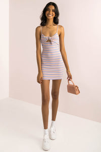Rigby Dress / Pink Stripe