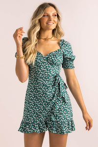 Halsey Dress / Green