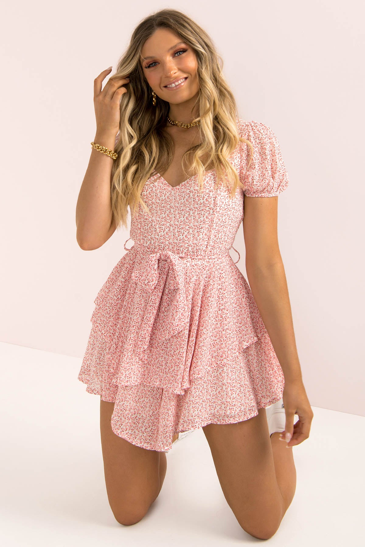 Misty Playsuit / Pink