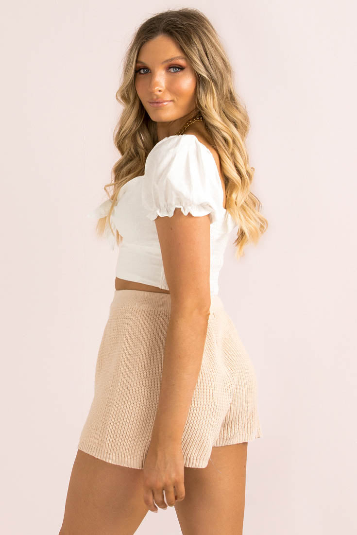 Emilee Top / White