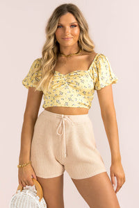 Gretal Top / Yellow