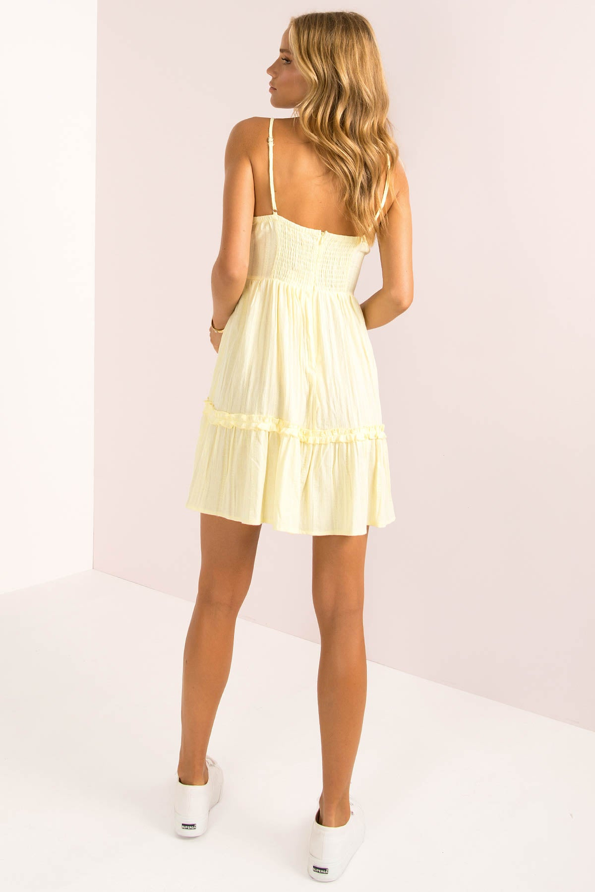 Tabitha Dress / Lemon