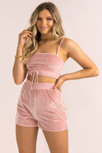 Kimmy Shorts / Blush