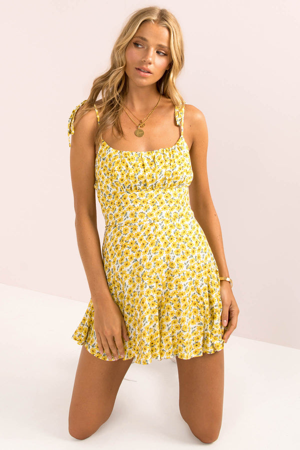 Annie Playsuit / Yellow
