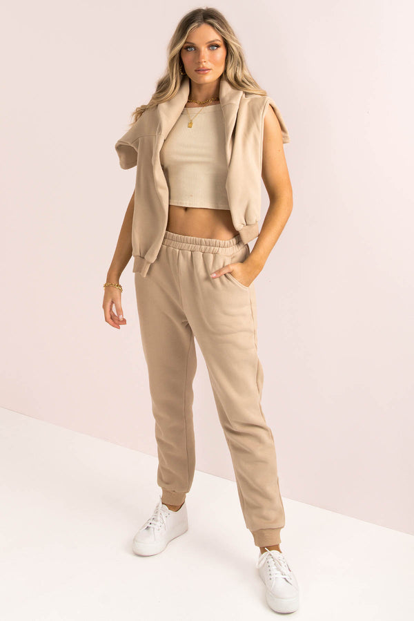 Bailey Pants / Beige