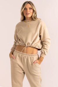 Bailey Top / Beige