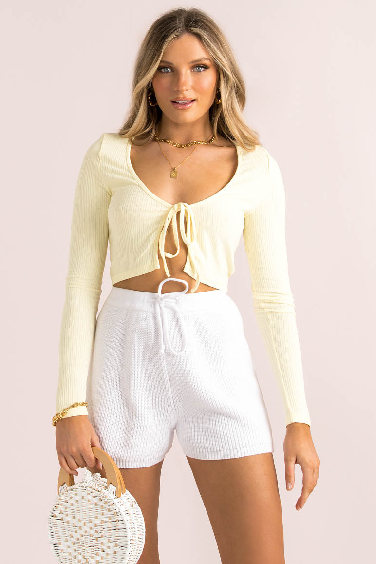 Evelina Top / Lemon