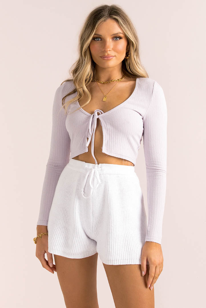Evelina Top / Lilac