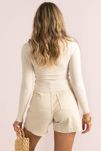 Spencer Top / Light Beige