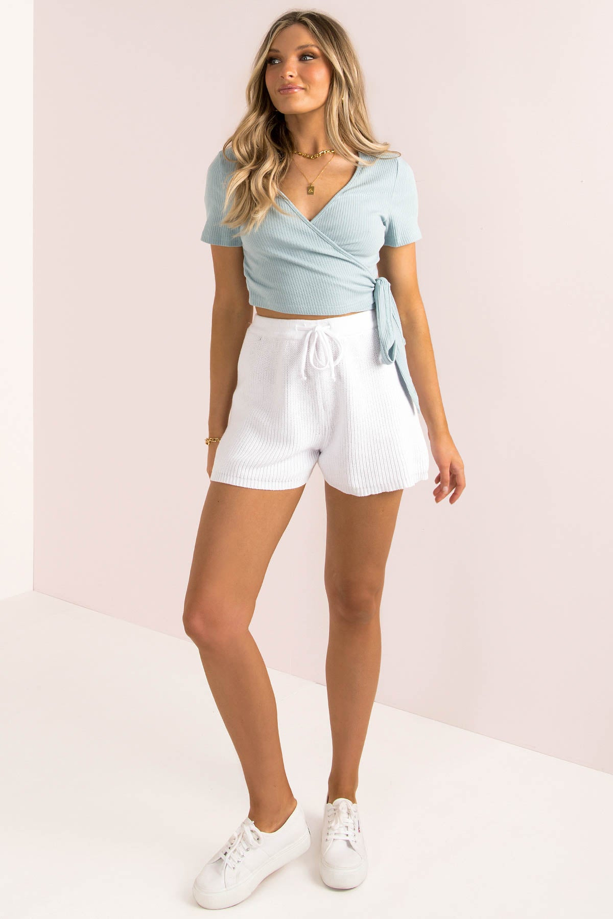 Bessie Top / Blue