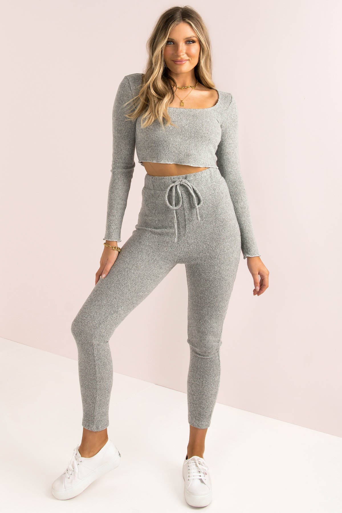 Megan Top / Grey