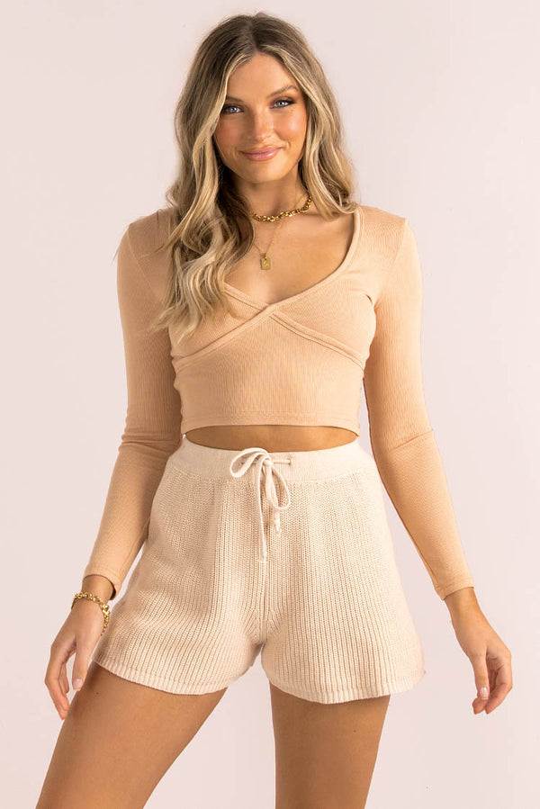 Georgia Top / Beige
