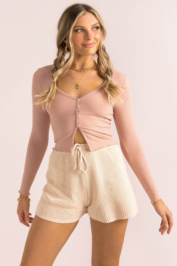 Spencer Top / Dusty Pink