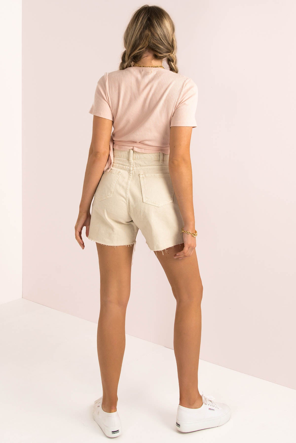 Bessie Top / Blush