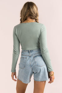 Darby Top / Green