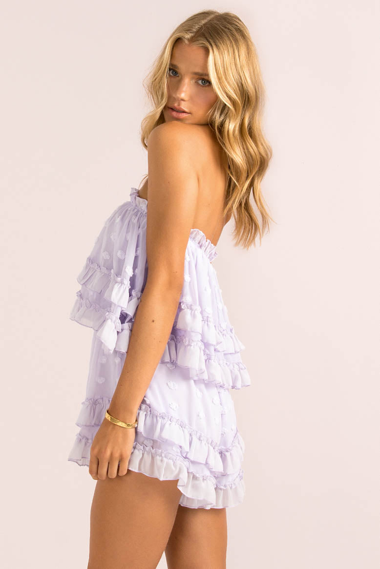 Cleo Playsuit / Lilac